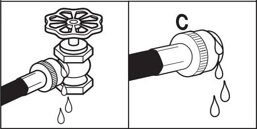打开水龙头检查是否漏水